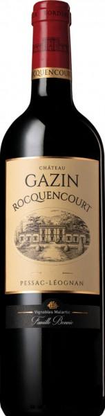 Château Gazin Rocquencourt Rouge 2016