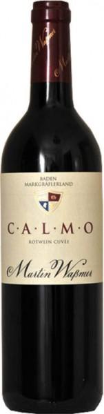 CALMO Rotweincuvée Qualitaetswein trocken 2017