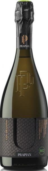 Col de L'Utia Prosecco DOCG Valdobbiadene Vino biologico Extra Dry