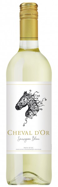 CHEVAL D'OR SAUVIGNON BLANC PAYS D'OR 2018