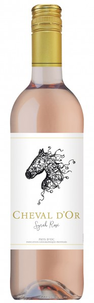 CHEVAL D'OR Syrah Rosé 2018